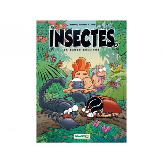Les insectes en BD, tome 2