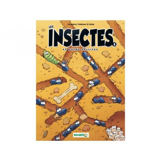 Les insectes en BD, tome 3