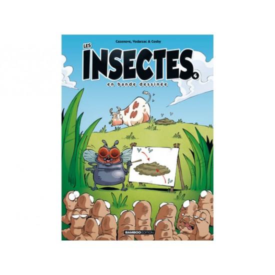 Les insectes en BD, tome 4